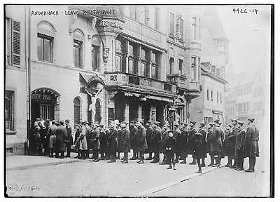 Photo of Andernach, leave restaurant Number 13961 Vintage 28507