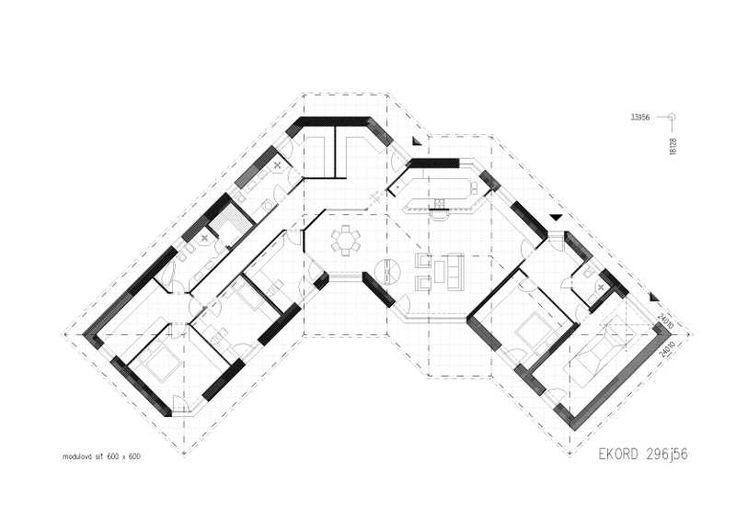 Nízkoenergetické a pasivní bungalovy EKORD 5+1, rodinné domy na míru | EKORD