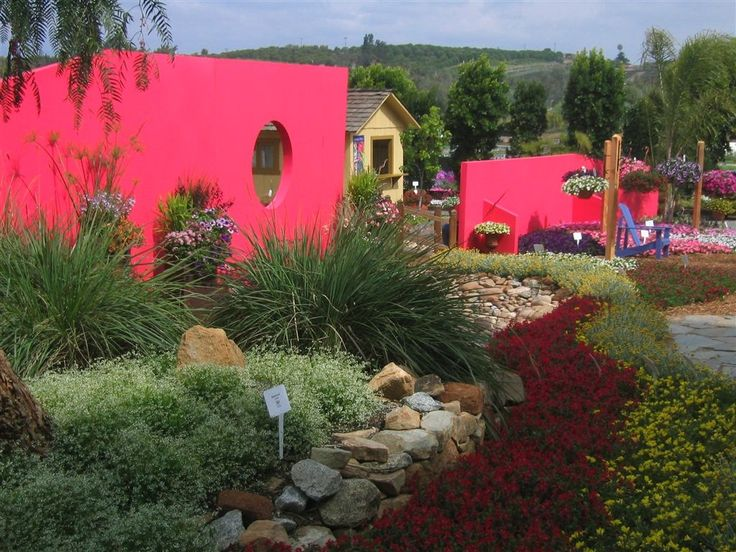 Proven Winners | Basic Design Principles - Using Color in the Garden: Colors Concrete, Concrete Wall