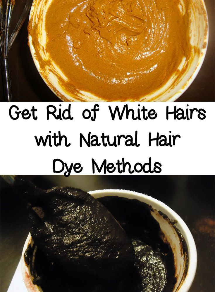 Get Rid of White Hairs with Natural Hair Dye Methods