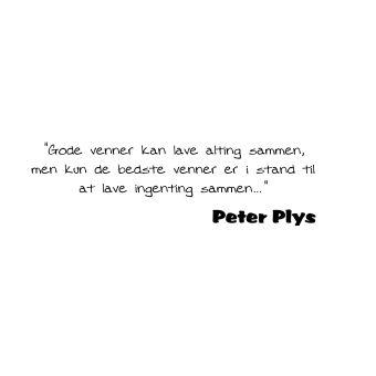 Citat af Peter plys