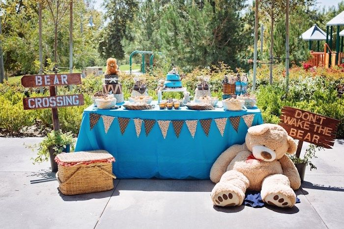 Teddy Bear Picnic Baby Shower Inspiration www.MadamPaloozaEmporium.com www.facebook.com/MadamPalooza
