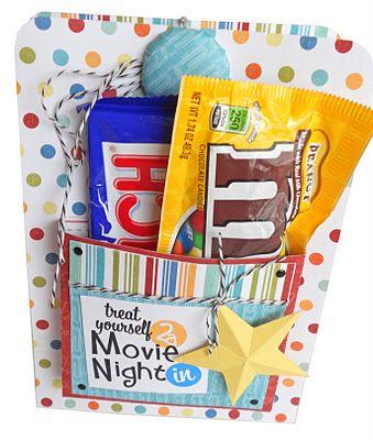 Creative Gift Wrap Idea: Movie Night DVD Wrap Tutorial