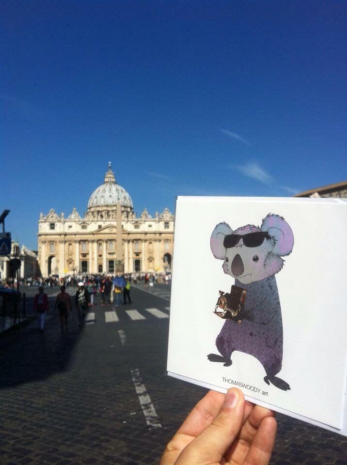 ThomasWoody arts cool kort i Rom 👍🏻😊 #cool #roma #art #kort #cards