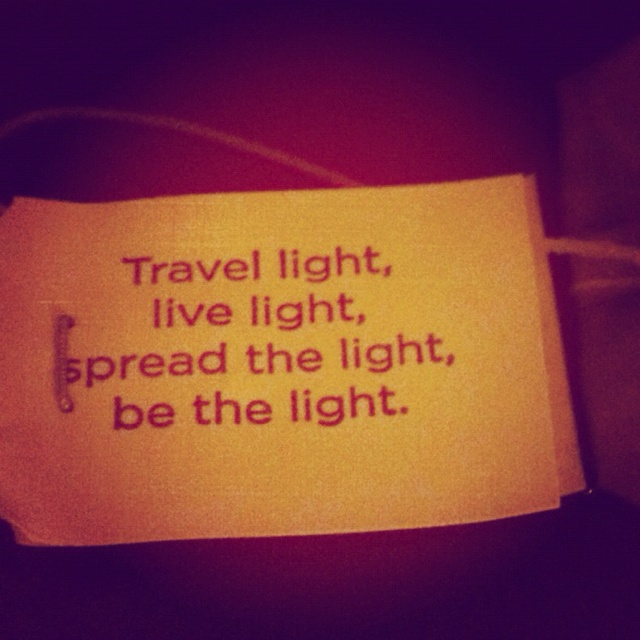 Loved this quote on my Yogi tea!