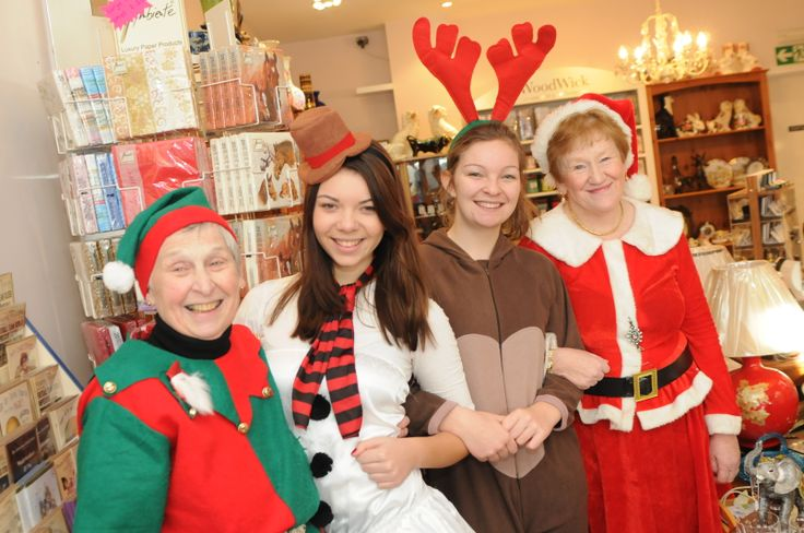 Whatever time of year, a friendly welcome awaits you at Cleadon gifts & Antiques shop, Cleadon Village, South Tyneside.