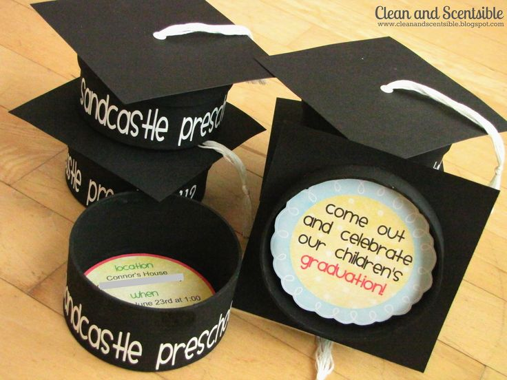 Clean & Scentsible: Graduation Party Invitations