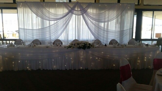 Wedding head table MOFSC