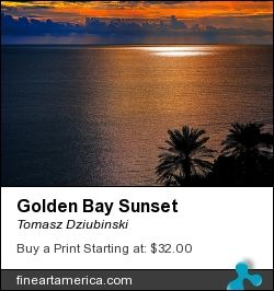 The Golden Bay Sunse, Malta, 2012