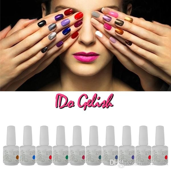 vernis à ongles soak off gel polish gelish nail art gel uV long lasting 223 couleurs toute