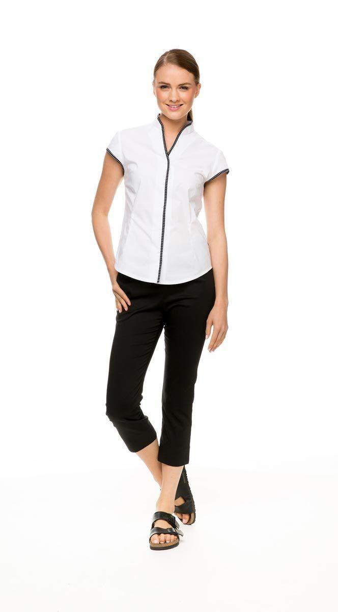 Rose Street Spa - Cap Sleeve Shirt, $49.95 (http://rosestspa.com/tops/cap-sleeve-shirt/)