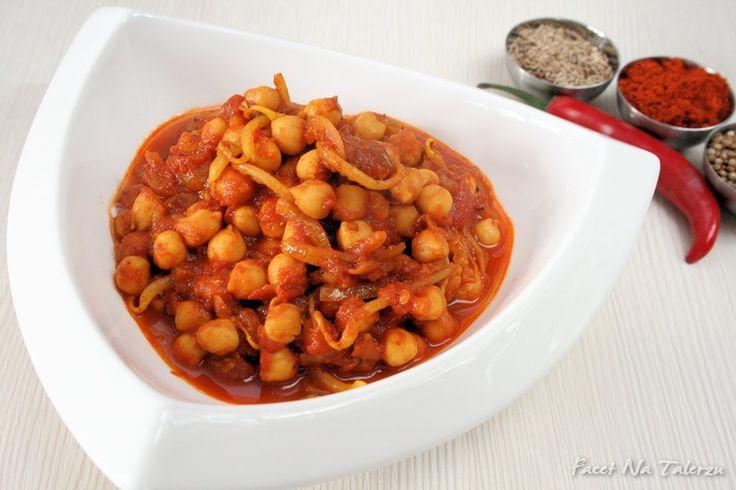Chana Masala - indyjskie curry z ciecierzycy | Facet Na Talerzu