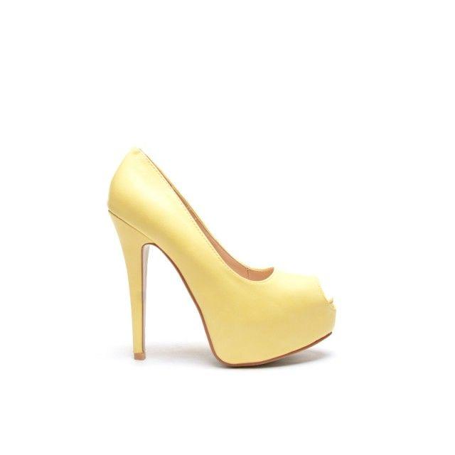 Pantofi Poler Galbeni (Galben)