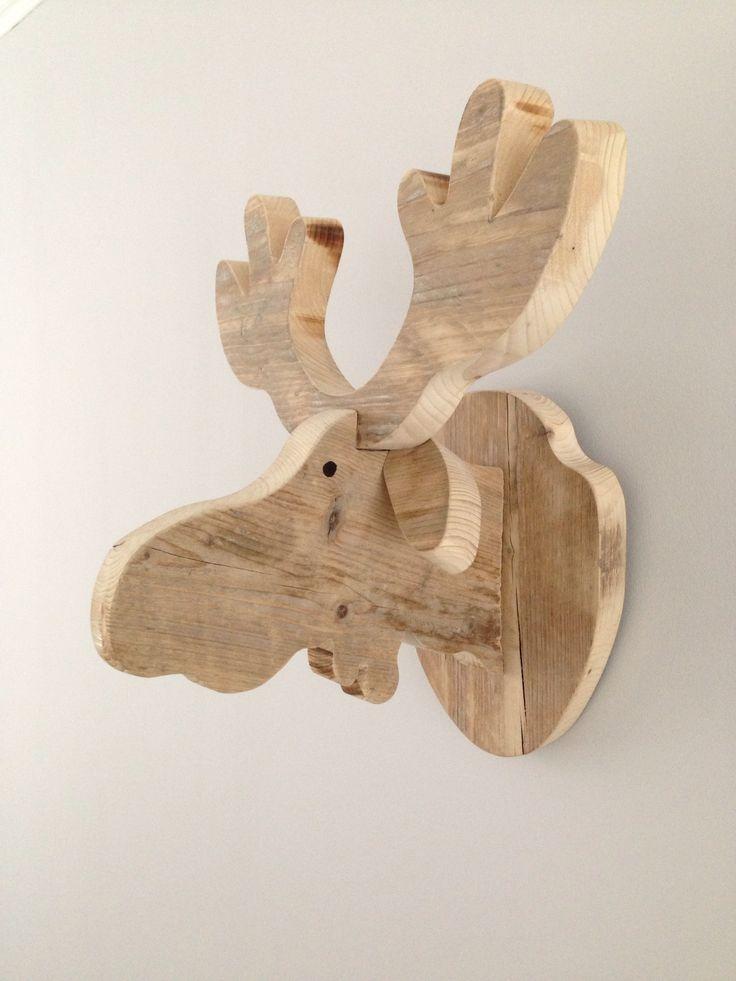 DIY | Herfst | Eland van steigerhout | decoratief | how to | recycle | tips | creatief