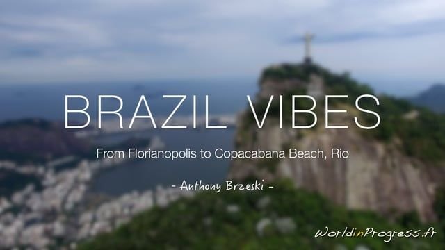 "BRAZIL VIBES was recorded on the way from Florianopolis to Rio, driving through Ilha Grande, mount Corcovado and Copacabana Beach. Very bad weather conditions kept the drone grounded most of the time, but fortunately I could perform few flights ... here are the best shots.  For more informations or 4K non edited rushes, leave me a comment  Soundtrack : ""Beautiful Life"", by Lost Frequencies ft. Sandro Cavazza  Filmed with DJI Phantom 3 Professional, edited and color graded with Final Cu..."
