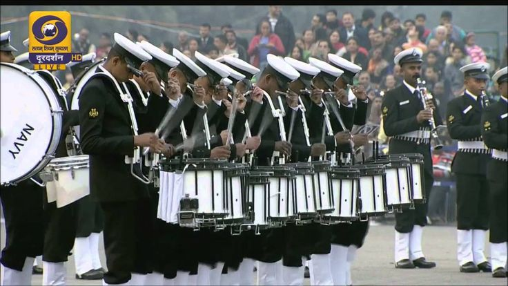 Indian Naval Band showcases new moves at the Beating Retreat 2016