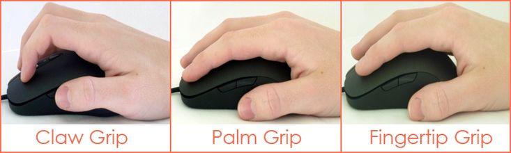 Grip et Ergonomie Souris Gaming #souris #gamer #gamertech