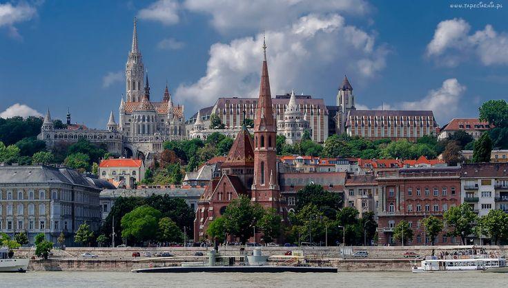 Węgry, Budapeszt, Dunaj, Parlament, Europa