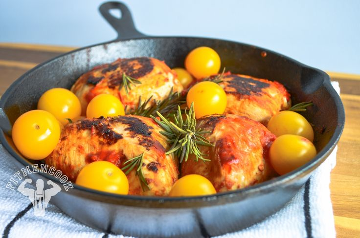 Spicy Harissa Grilled Chicken Breast - Fit Men Cook