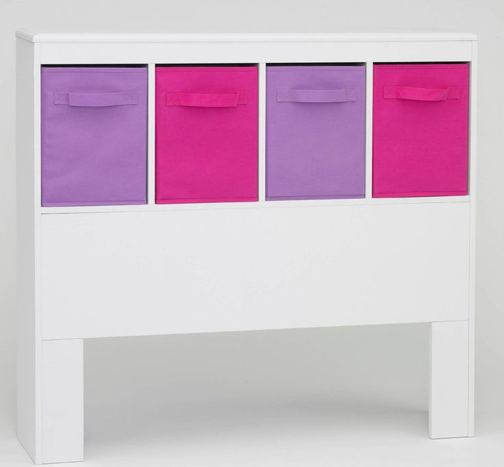 Michael Anthony Furniture Michael Anthony Furniture Girlu0027s Storage  Headboard With Bins