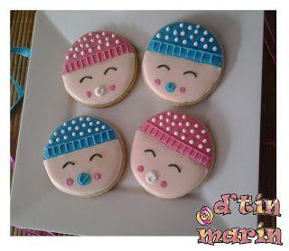 Galletas decoradas Bebes Baby Shower