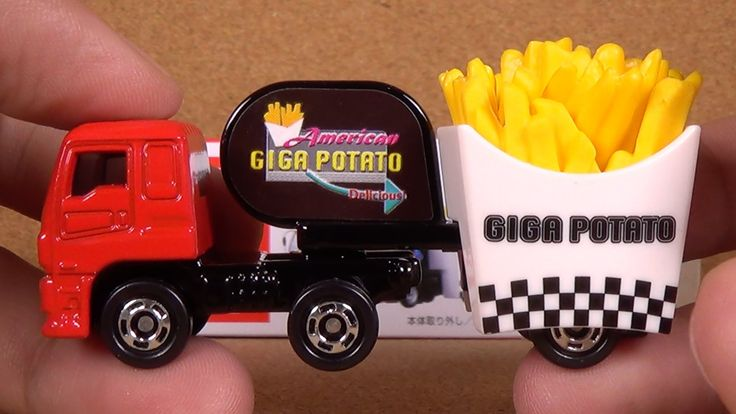 Tomica 055 - Isuzu Giga Fried Potato Car (Takara Tomy Japan Diecast Toy ...