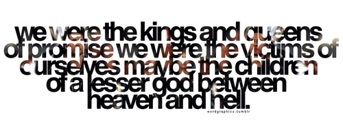 30 SECONDS TO MARS - KINGS AND QUEENS LYRICS