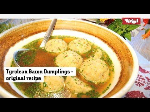 Austrian Bacon Dumplings – the original recipe for Tyrolean dumplings › BlogTirol