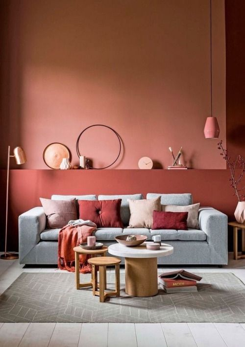 37 best walls images on Pinterest Apartments, Bedroom ideas and - wohnzimmer lila braun