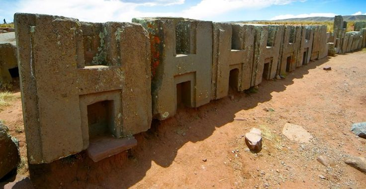 """The archaeological site Puma Punku, situated on 16°33'42.25""""S 68°40'48.36""""W is only 547 square meters. Not too much considering that the place is maybe one of the most advanced ancient megalithic site as importance after the great pyramid. All the good ''bits'' are covered by a layer of mud, but the interest of local archaeologists in uncovering its mysteries is equal with the one of the great petrolists in promoting the electric car.  ********* Photo Credit: LAH (Laboratory of Alternative…"""