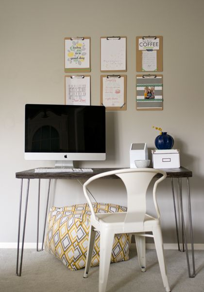 90 best DIY Office Space Inspiration images on Pinterest Office