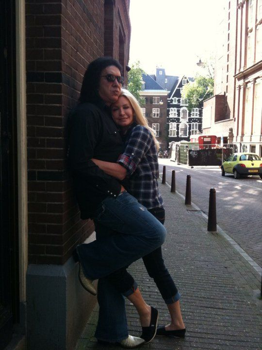 Gene And Shannon In Amsterdam (via Shannon Tweed's Twitter). 2010