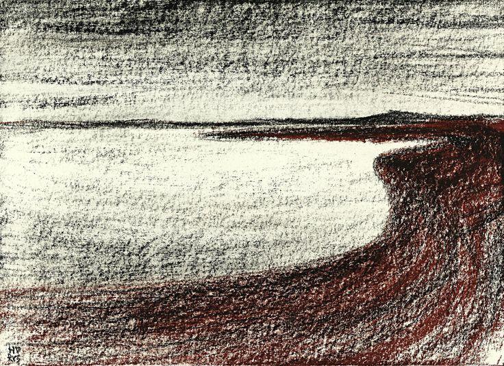 Am Ufer / 29 x 21 cm, 2016