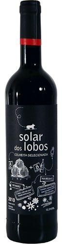 Solar de Lobos Colheita Selecionada Tinto 2010, Alentejo €6.00