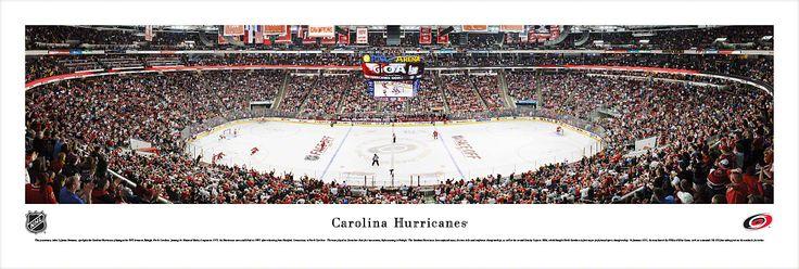 Carolina Hurricanes Panoramic - PNC Arena Picture $29.95