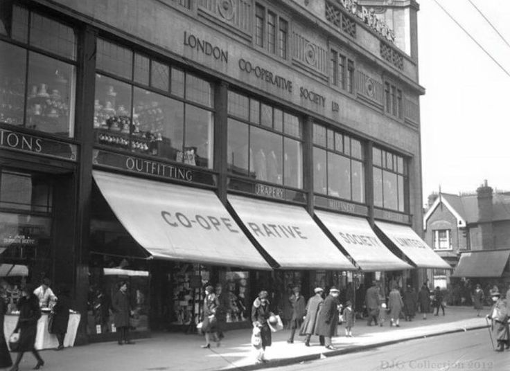 East Ham co-op.loved this building.so many happy memories as a kid.they knocked it down for a flippin Car park!