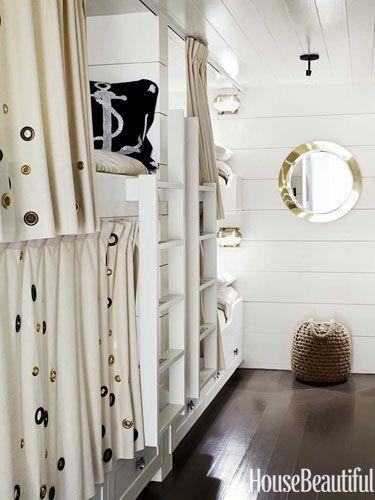 Beach House Decor Ideas - Nautical Decorating Ideas - House Beautiful