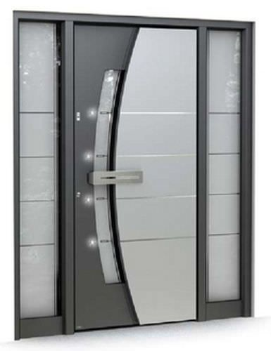 Porta d'ingresso battente / in vetro / di sicurezza MULTILEVEL: 510 Pirnar