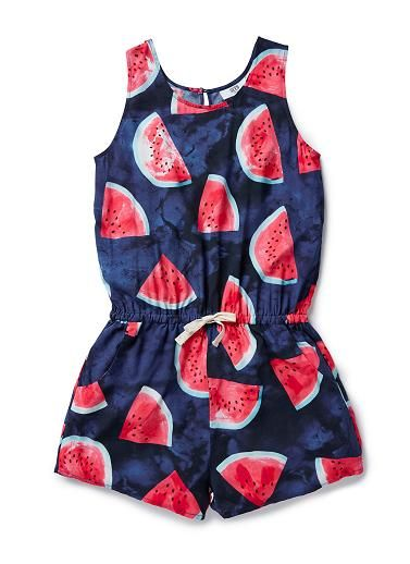 Teen Girls Dresses & Tunics | Watermelon Playsuit | Seed Heritage $60