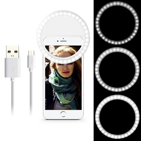 Universal Portable Selfie Light Camera Smartphone Photography