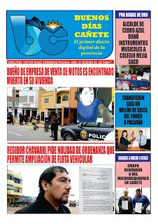 buenosdiascanete.blogspot.com: DIARIO DIGITAL BUENOS DIAS CAÑETE, EDICIÓN 23 NOVI...