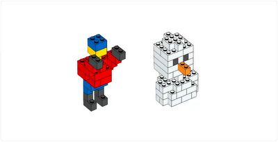 Print 24 instructions from Lego's website and give your child a new project to build each day to countdown to Christmas - from The Activity Mom