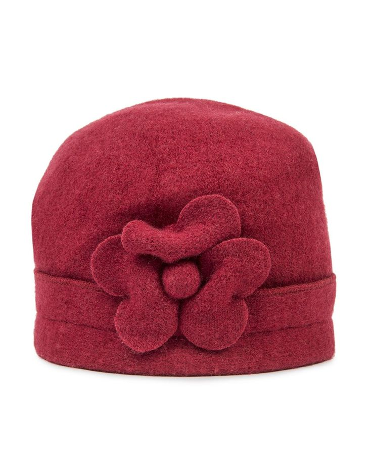 'Flower' Wool Beanie