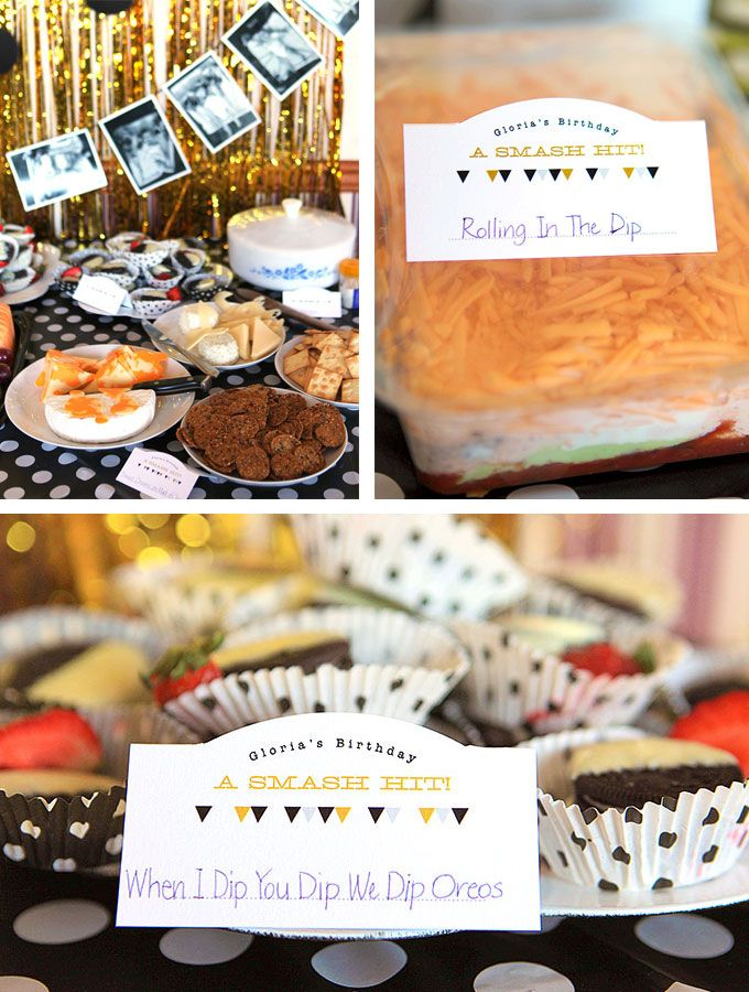 Black, White and Gold Music-Themed First Birthday Party   Evermine Blog   www.evermine.com