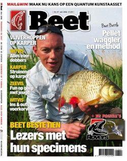 6x Beet € 19,95: Lees vissersblad Beet nu een half jaar voor slechts 3,32 per nummer. Dat is een korting van 40% op de prijs in de winkel!