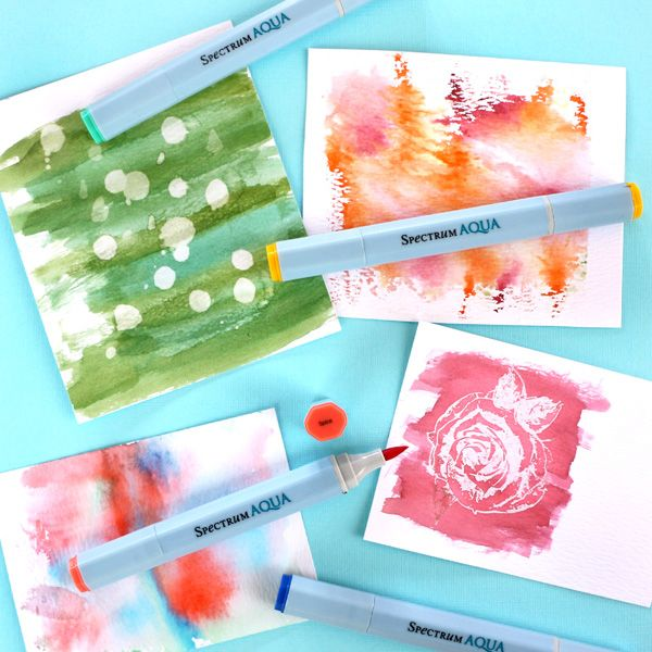 Found it at Blitsy - 6 Ways To Use Spectrum Aqua Markers