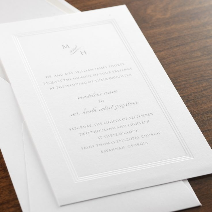 wedding invitations from michaels crafts%0A Affinity Wedding Invitation by Checkerboard Ltd