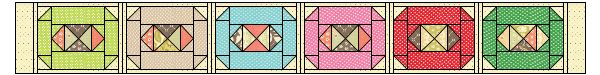 Trifle Dish: Jewel BlockTutorial on the Moda Bake Shop. http://www.modabakeshop.com