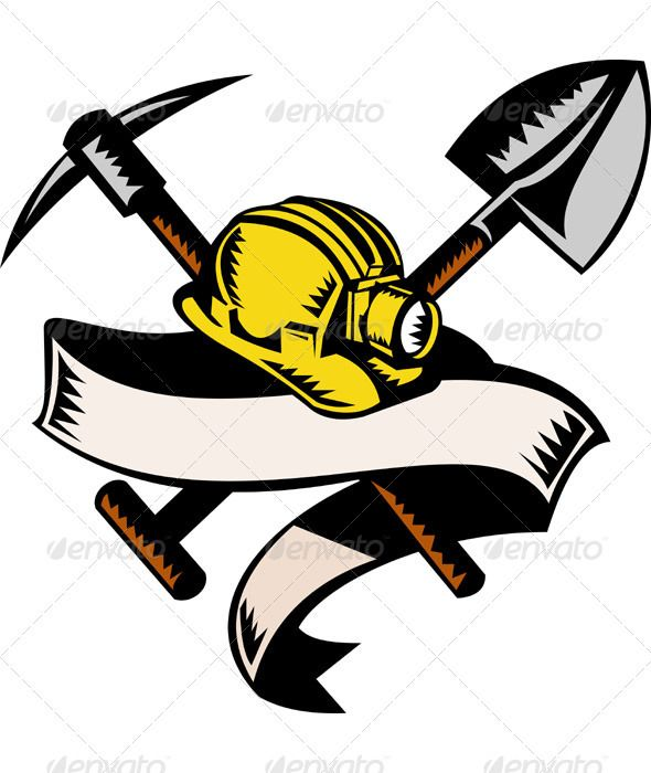 Realistic Graphic DOWNLOAD (.ai, .psd) :: http://hardcast.de/pinterest-itmid-1000955611i.html ... Miner Hard Hat Pick Ax and Shovel Woodcut Style ...  coal miner, crossed, hardhat, illustration, industry, miner, mining, pick ax, retro, scroll, shovel, spade, vector, woodcut  ... Realistic Photo Graphic Print Obejct Business Web Elements Illustration Design Templates ... DOWNLOAD :: http://hardcast.de/pinterest-itmid-1000955611i.html