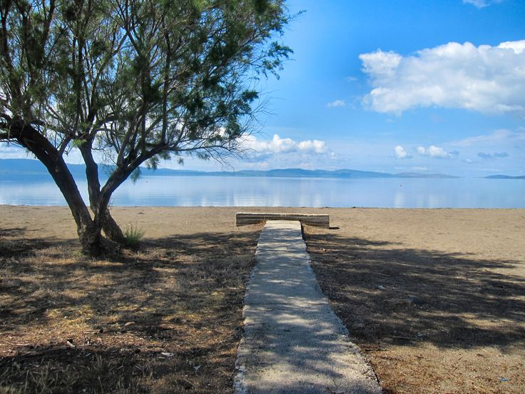 Walk all the way to #Skala #Kallonis, one of Lesvos most beautiful beaches.